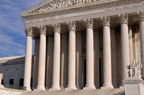 Supreme Court cases through at least April 1 are delayed.