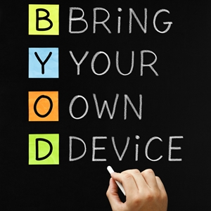 A BYOD plan can free workers from their desks while still granting them full access to the mainframe.