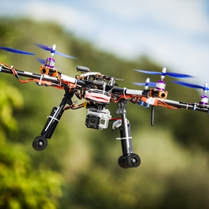 Drones could be used to increase railroad security, at least by one company.