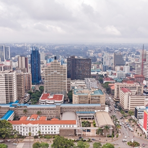 Nairobi has had a mainframe, but it now has a new up-to-date one from IBM.