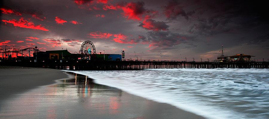 Pier-at-sunset