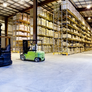Smart forklifts and other tools related to the Internet of Things could impact supply chain management and logistics in the future.