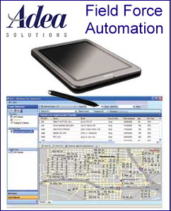 Adea Tax Solution screen shot and tablet PC